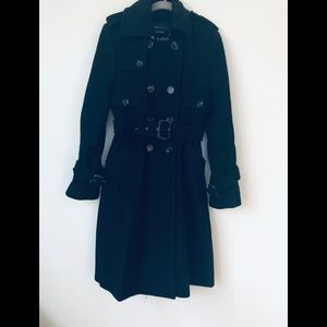 BCBG Wool Trench Coat